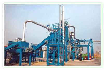 KUG Thermolysis Process Plant