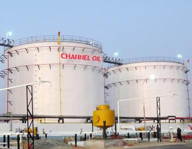 Refined Petroleum Products in Nigeria Tank Farm